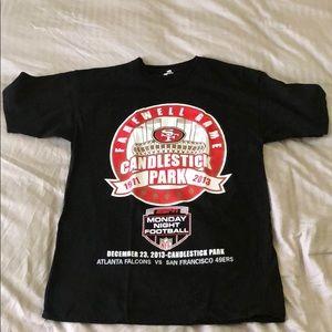49ers T-shirt medium